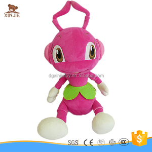 custom lovely ant plush toy best selling stuffed ant soft toy