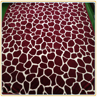 Adorable Cow Print Flannel Fleece Blanket