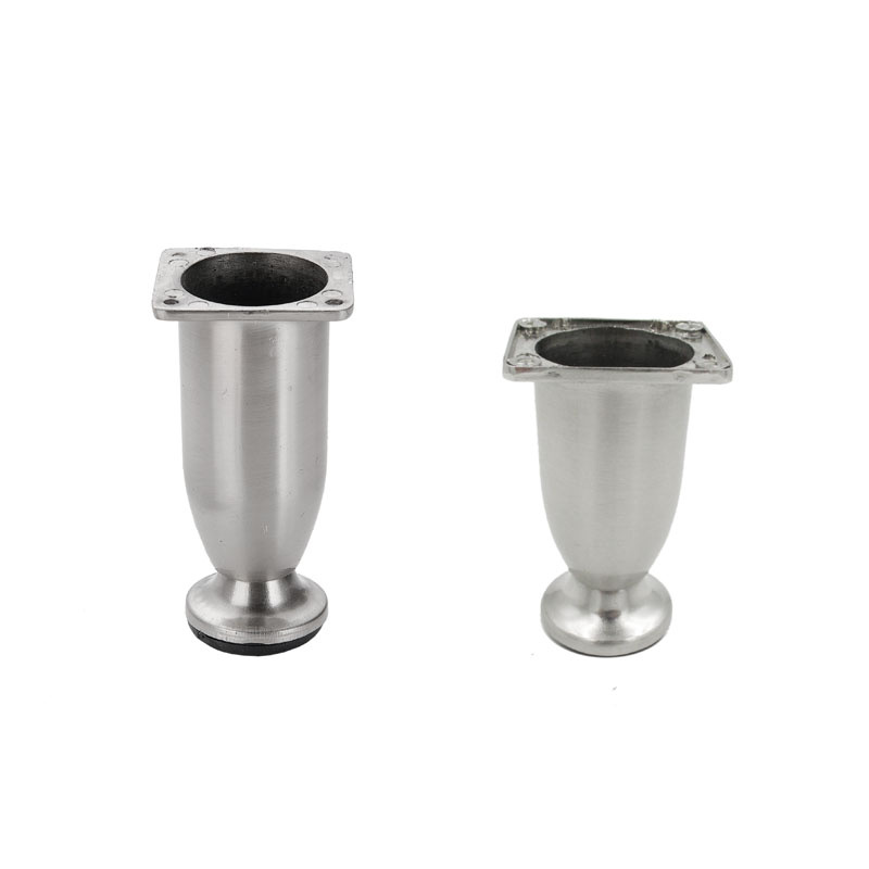 zinc alloy chrome furniture legs sofa leg furniture hardware accessories fittings