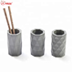 Geometry pen holder molds concrete craft forms Cement planter pot mold Silicone