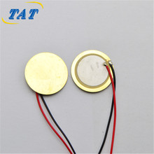 FT20 20 MM Piezo Element Piezo Buzzer Element