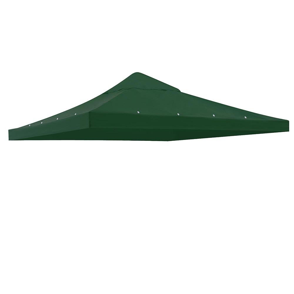 Get Quotations 10 X Green Gazebo Replacement Top Canopy Cover Fits 9 3 4