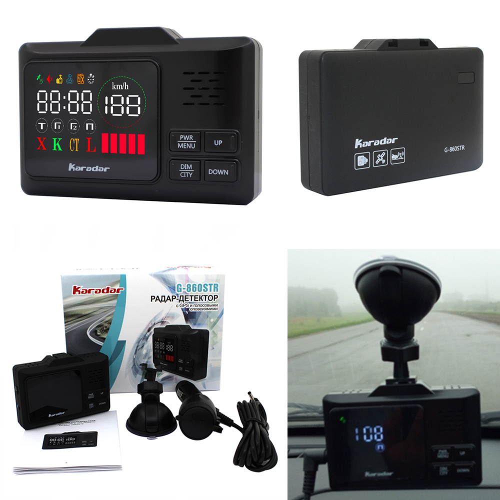 Car radar detectors from china with LED display