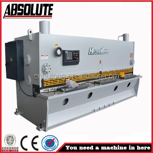 Cnc del oscilación haz cizalla QC11Y-10x4000 guillotina tijeras de los accesorios Fabricantes de fabricación, proveedores, exportadores, mayoristas