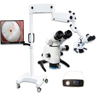 LED Surgical operating and dental microscope
