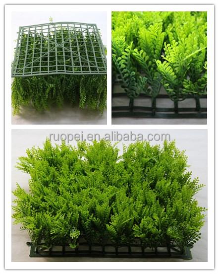 Jaune Couleur Artificielle Foug Re Herbe Tapis Pour Jardin Vertical Mur D 39 Autres Accessoires De