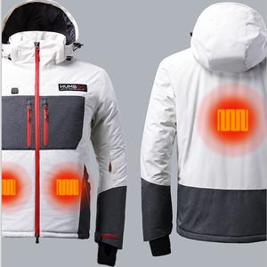 9beec16a8 Custom Man Rain Ski Waterproof Heated Jacket Outdoor Snow Winter Coat  Windbreaker