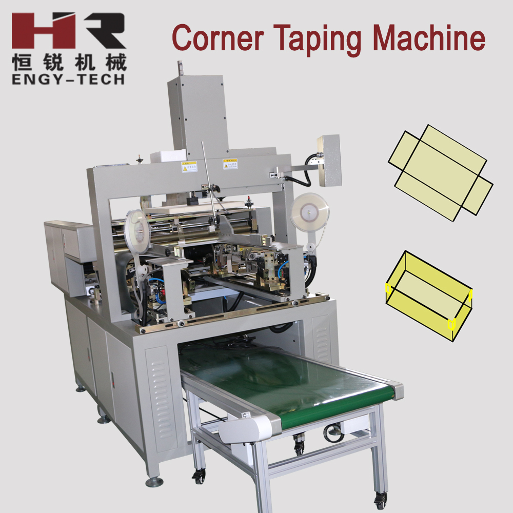 Paper Box Corner Sticking Machine/Rigid Box Forming Machine