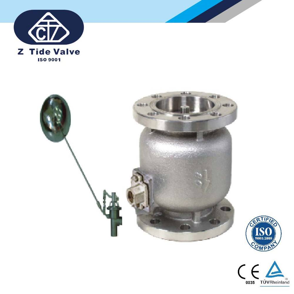 Float Valve for water tank in Stainless steel or Cast Iron made in Taiwan