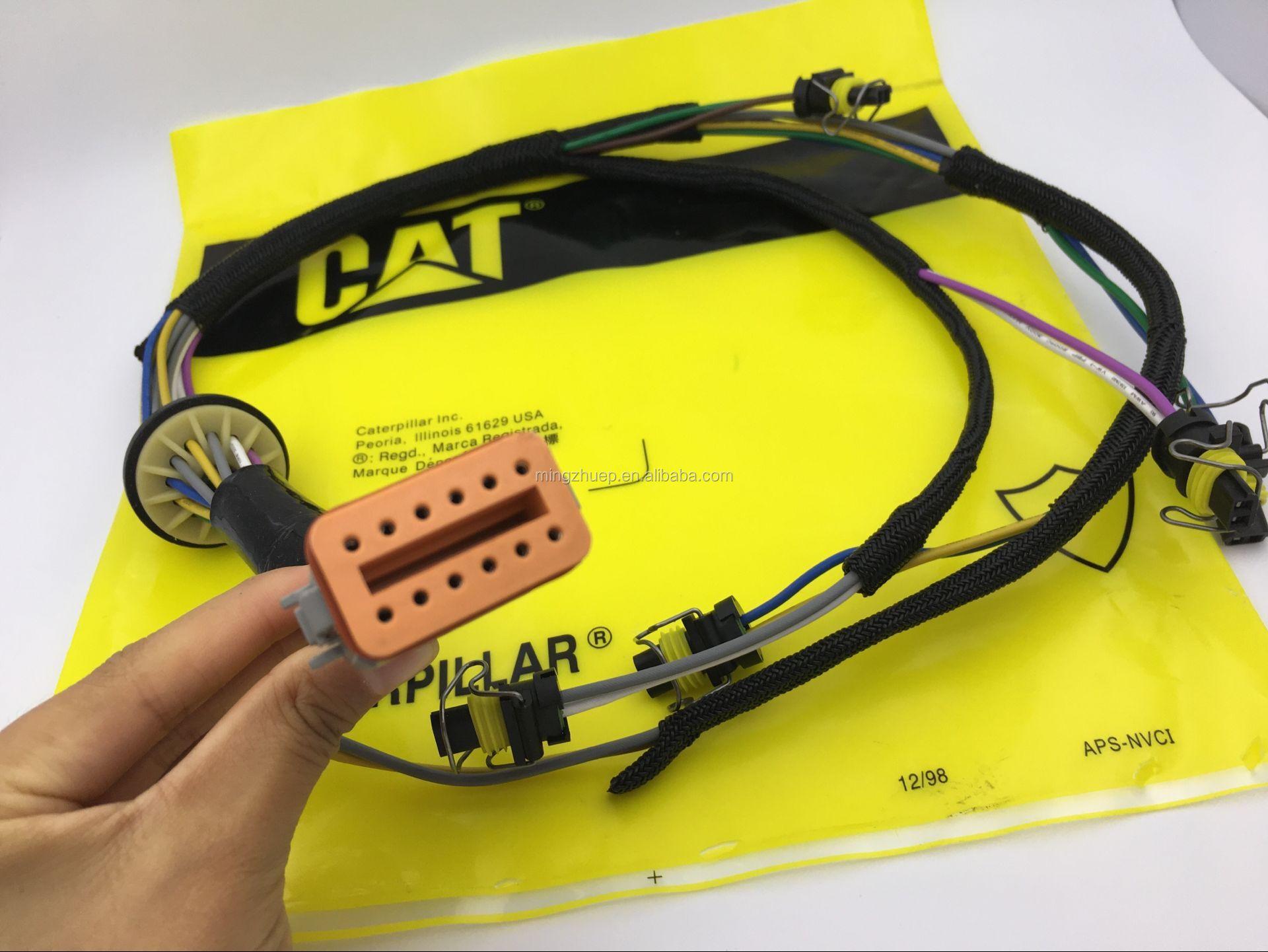 Excavator Parts C7 Diesel Engine Wire Harness 222 5917 195 7336 Packaging
