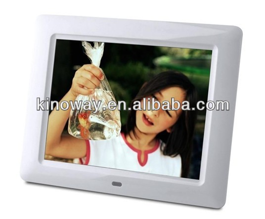 large size digital photo frame remote control easy use DPF