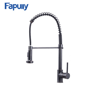 All Around Rotate Swivel 2-Function Water Outlet Mixer Tap Kitchen Faucet Oil Rubbed Bronze Faucet With Pull Out Torneira