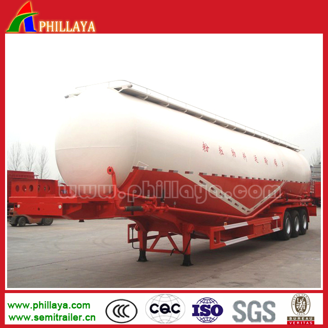 Factory Customized Cement Tanker Semi Trailer/2-4 Axles Bulk Carrier For Sale