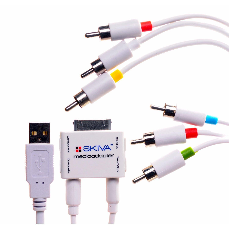 Skiva D102 Media Adapter AV Cable for iPhone/iPad/iPod
