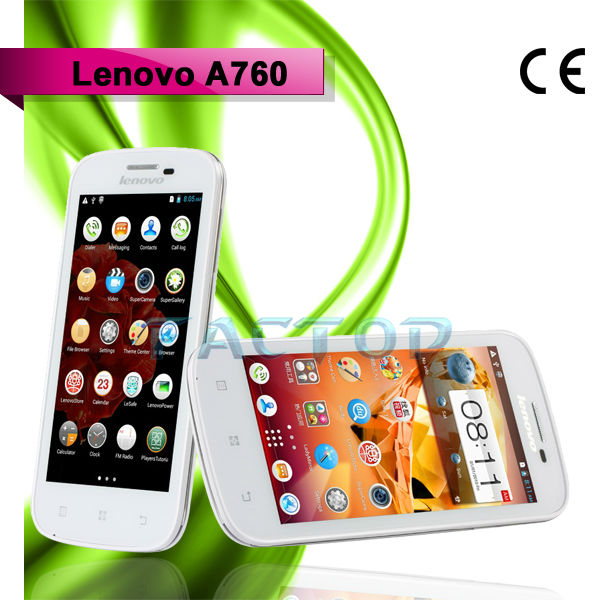 lenovo a760 omes mobile phone dual sim card android 4.1 RAM 1GB ROM 4GB