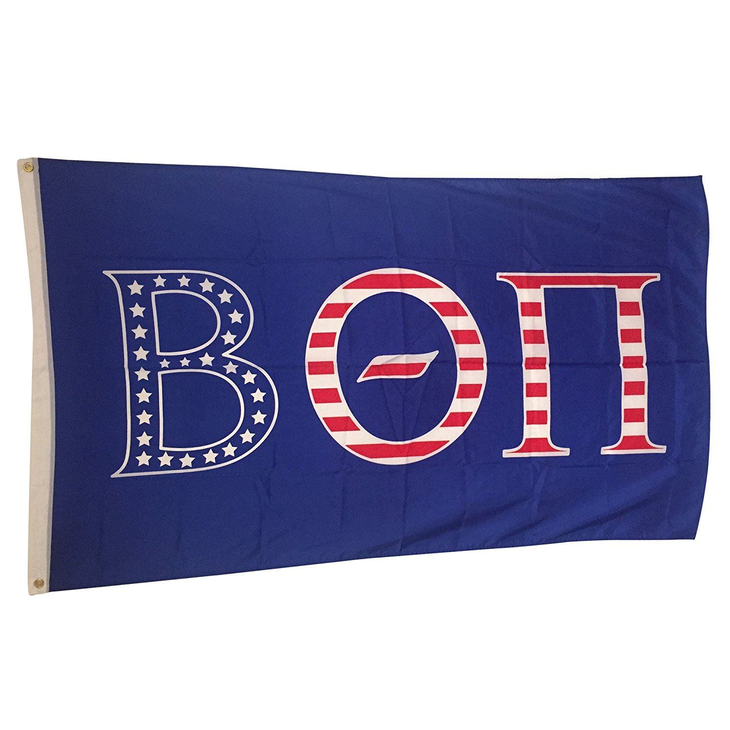 Beta Theta Pi USA Letter Fraternity Flag Greek Letter Use as a Banner Large 3 x 5 Feet Officially Licensed Flags and Decor