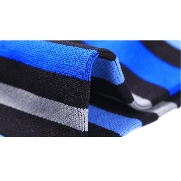 Wholesale quality stripe athletic socks/ custom sports running compression socks