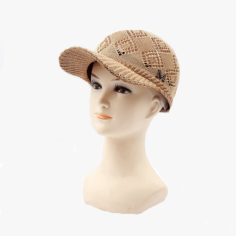 4c4f0acfd4e Top quality  strong knitting  strong  blank promotional straw hat baseball  sun