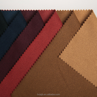 China supplier wholesale woven plain polyester cotton fabric warp knitted fabric for suit shirt trousers