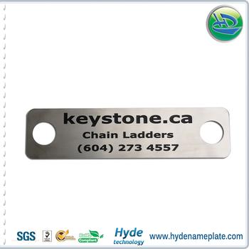 Carved Logo Metal Bag Furniture Company Label Brand Nameplate Tag With 3m  Self Adhesive Badge - Buy Nameplate Tag With 3m Self Adhesive Badge,Name