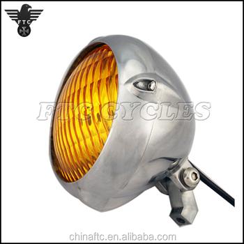 Motorcycle Custom Vintage 5 3 4 Headlight Parts For Harley Chopper