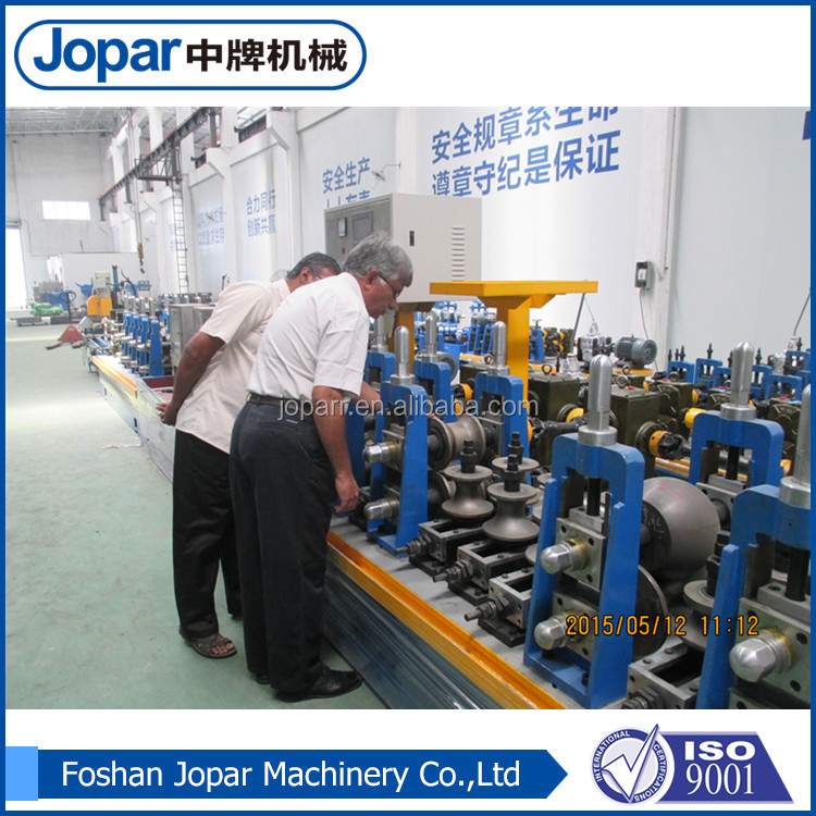 famous stainless steel bottle pipe making machine product