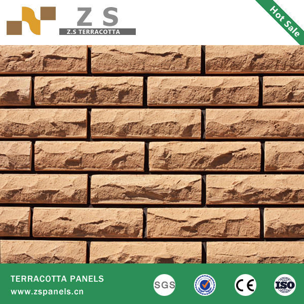 Wall cladding terracotta fired facing brick tiles wall Fired tiles
