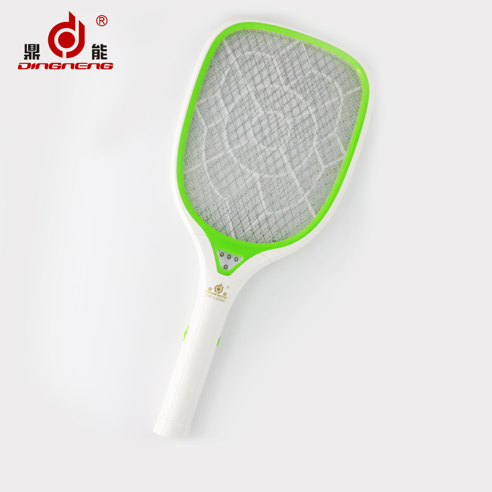 2016 china lithium battery Electronic Rechargeable Mosquito Killer /Racket/Swatter