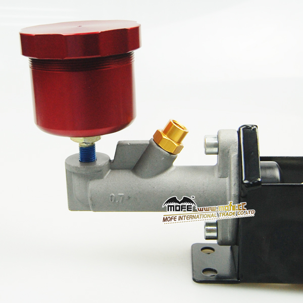 Hydraulic E-Brake aluminum brake fluid reservoir