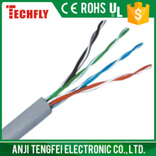 UTP cat5e,copper conductor.high speed,good quality,new PVC,HDPE,networking cable