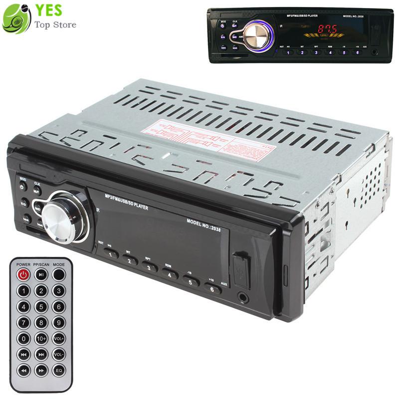 Автомобиль радио плеер автомобиль аудио автоматический стерео FM приёмник MP3 / карта SD / AUX в автомобиль радио в-dash