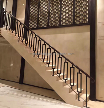 Cast Iron Stair Baluster Metal Hollow Pipe Stair