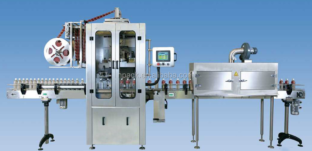 automatic bottle shrink sleeve label machine