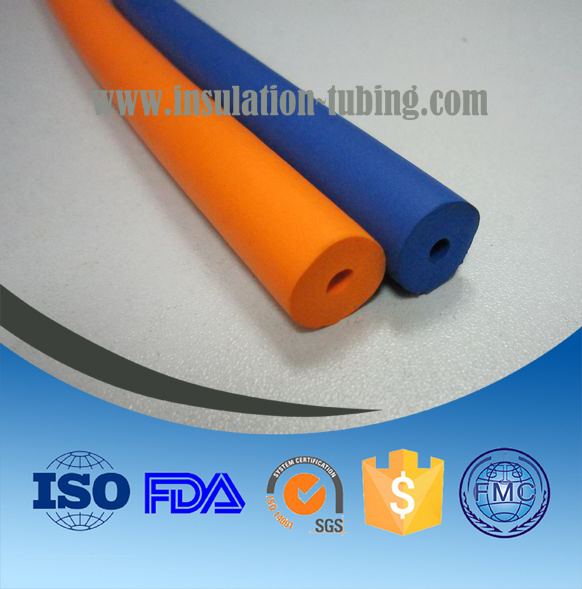 NBR Insulation Closed Cell Rubber Foam Tube