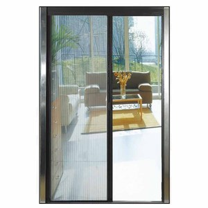 Cheap price 100x210 folding mosquito screen door