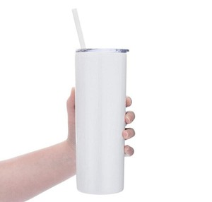 stainless steel 20 oz skinny tumblers double wall insulated straight water cups wine tumbler with lids and straws