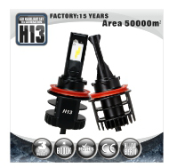 TUFF PLUS 12v 24v Hi Lo Beam H4 9003 HB2 Car LED Headlight Kit Replace Bulbs Lamp