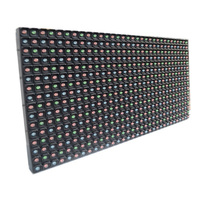 p5 module programmable advertising sign scrolling outdoor rgb led panel light round
