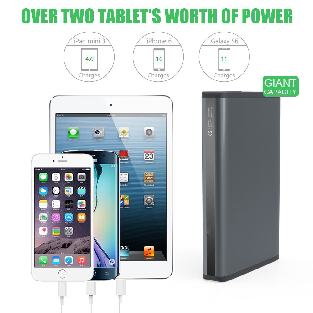 high capacity power bank 50000mah, laptop charger power bank with 30% discount , external power bank for laptop