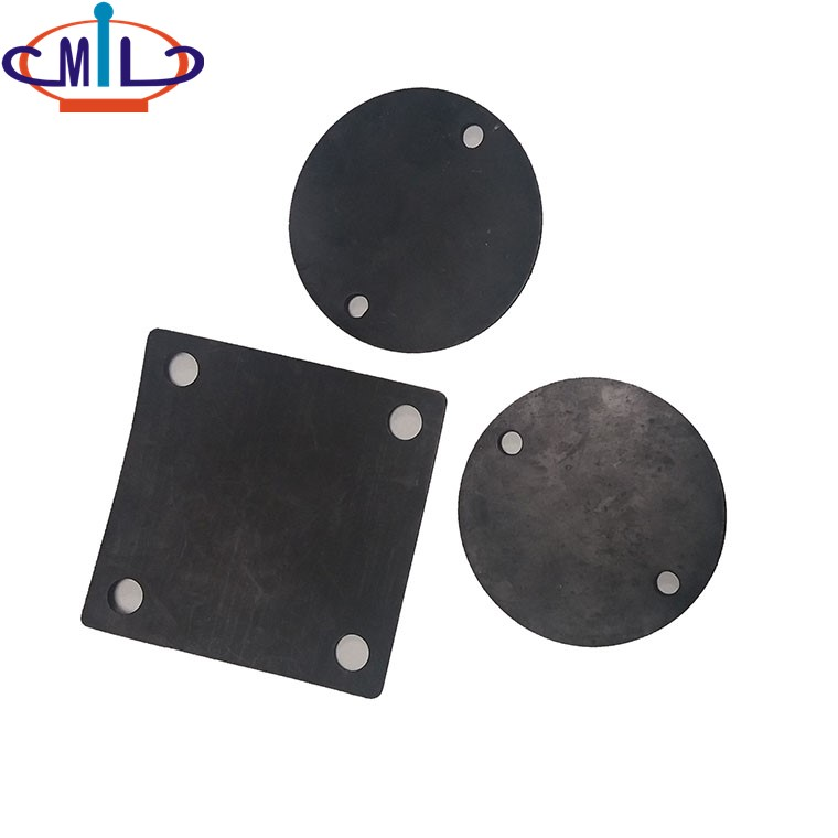 2mm thickness Electrical rubber conduit Box gasket Covers
