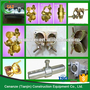 scaffolding Korea/JIS/British style, fixed/swivel pressed/drop forged steel coupler