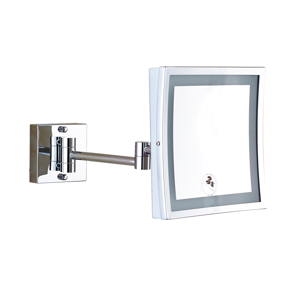 New arrival brass magnifying wall mount bathroom makeup mirror