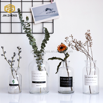clear mercury glass vase for christmas decoration gifts - How To Decorate Glass Vases For Christmas
