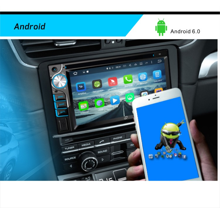 Macchina Fotografica senza fili Accessori di Elettronica di Controllo del Volante Originale Audio per Auto Universale Auto Manuale Mp5 Video Player