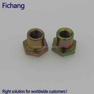 Din Carbon steel hex nut price bolt and nut