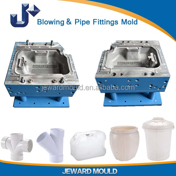 Professional PVC Pipe Fittings Blowing Mold Made in China with Good Quality Mould Steel