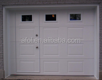 AFOL Garage Door With Pedestrian Access Door And Windows