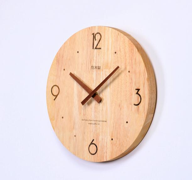 Good quality low moq unfinished round digital clock for sale