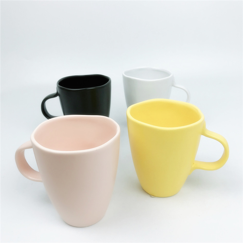 Multi-Color Optional Mugs Collection of Assorted Colourful Milk Coffee Tea Cups