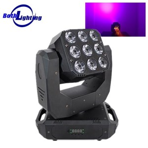 LED RGBW 4in1 Beam Wash Double Face Two Side mini led moving head stage light